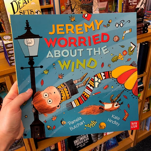 Jeremy Worried About the Wind   Pamela Butchart and Kate Hindley