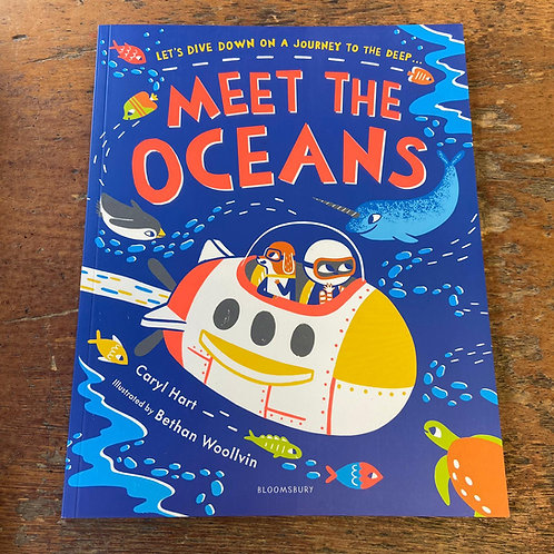 Meet the Oceans | Caryl Hart and Bethan Woollvin