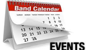2020 Marching Band Summer Schedule