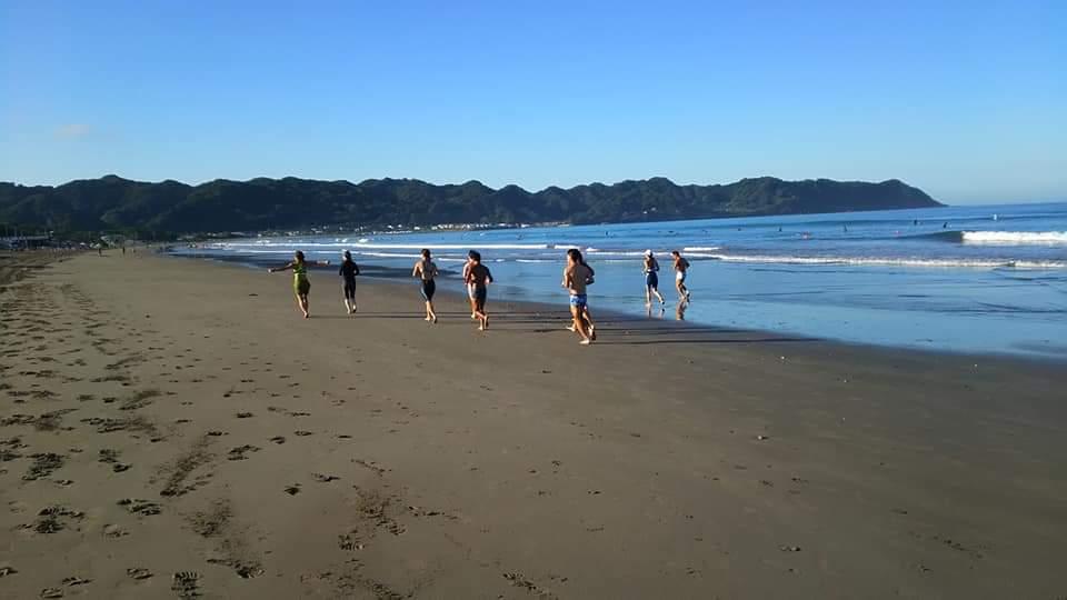 サマーキャンプ 岩井海岸