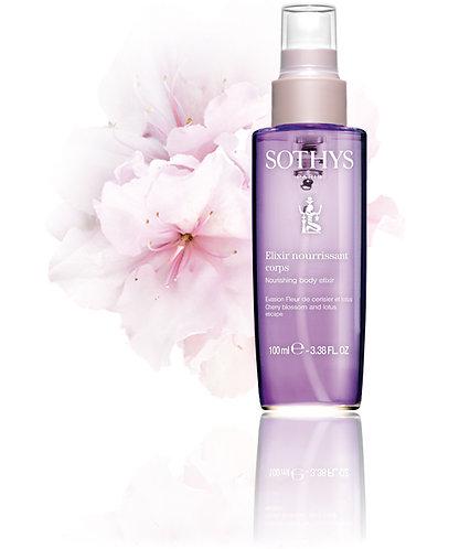 Nourishing Body Elixir Cherry Blossom & Lotus escape