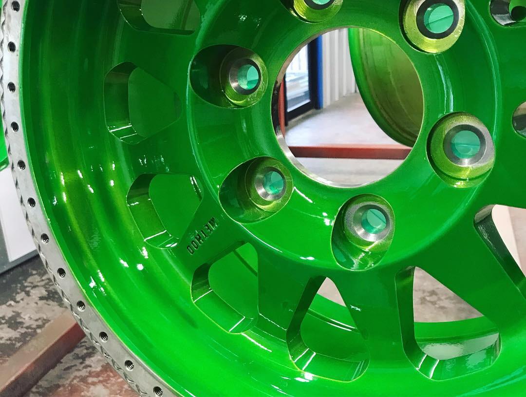 Custom- Monster Green