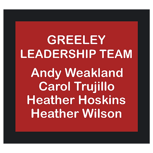 Leadership Team Sign