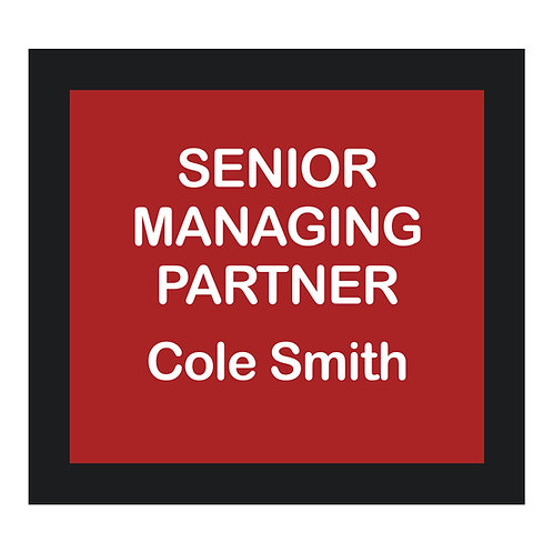 Senior Managing Partner Sign