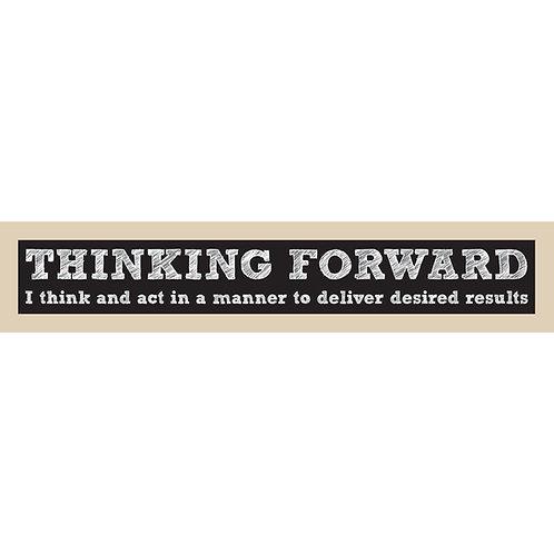 Thinking Forward Sign
