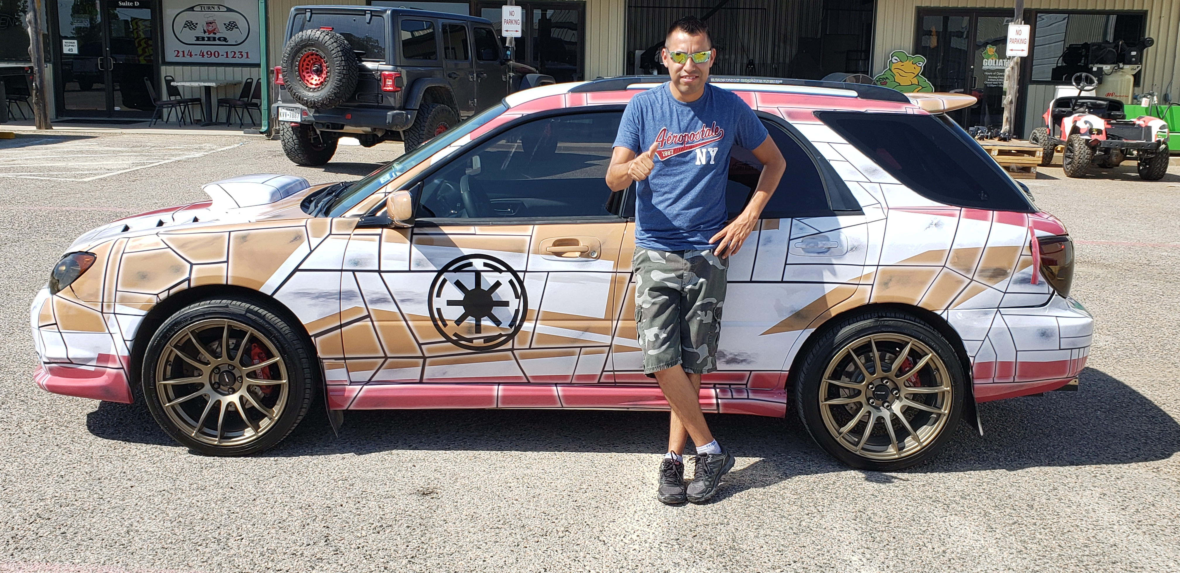 Custom Design Star Wars Wrap