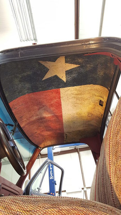 Custom Interior Truck Vinyl