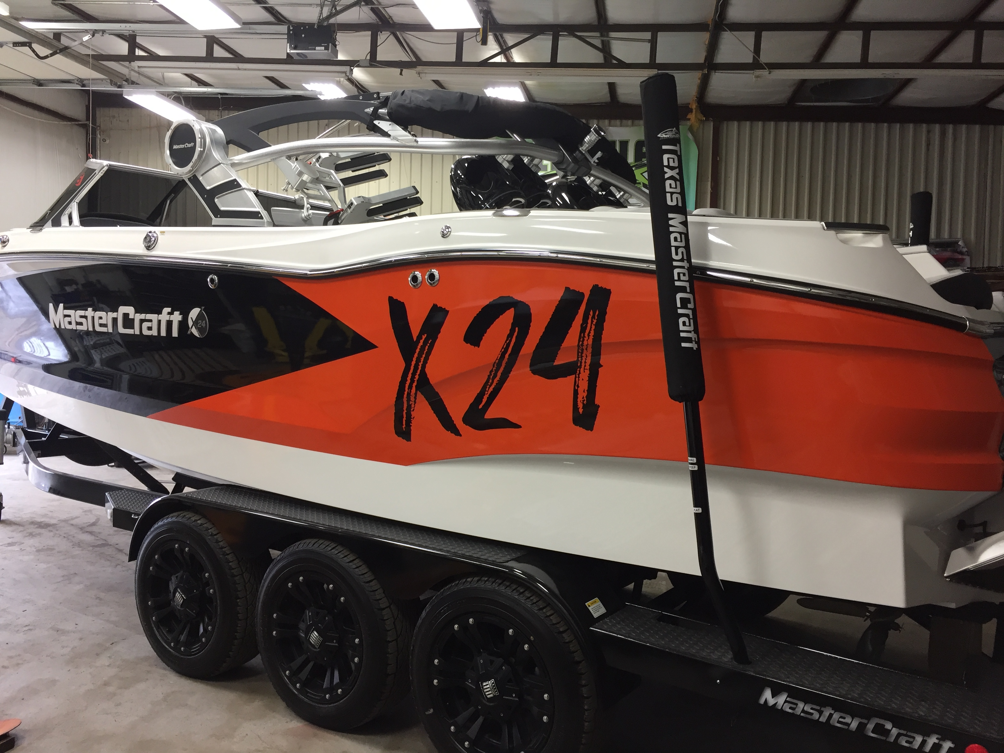 Boat Partial Wrap & Decals