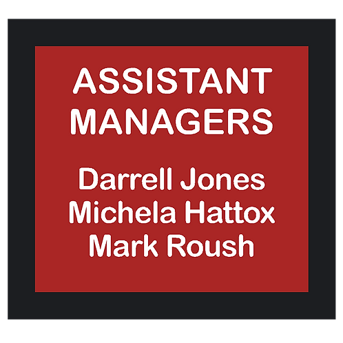 Assistant Managers Sign