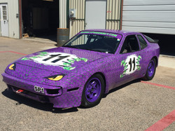Custom Race Car Wrap