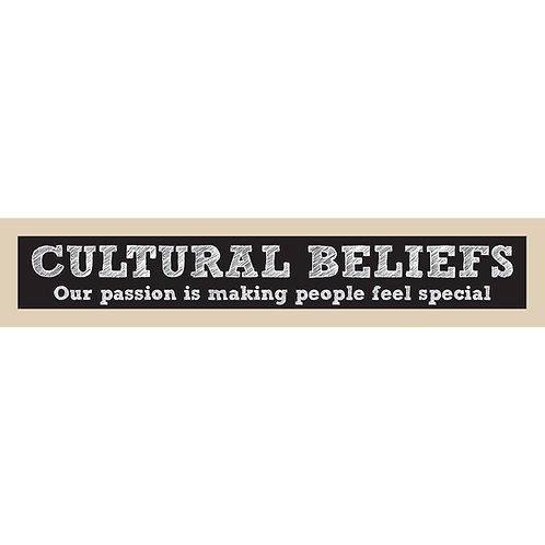 Cultural Beliefs, Our Passion
