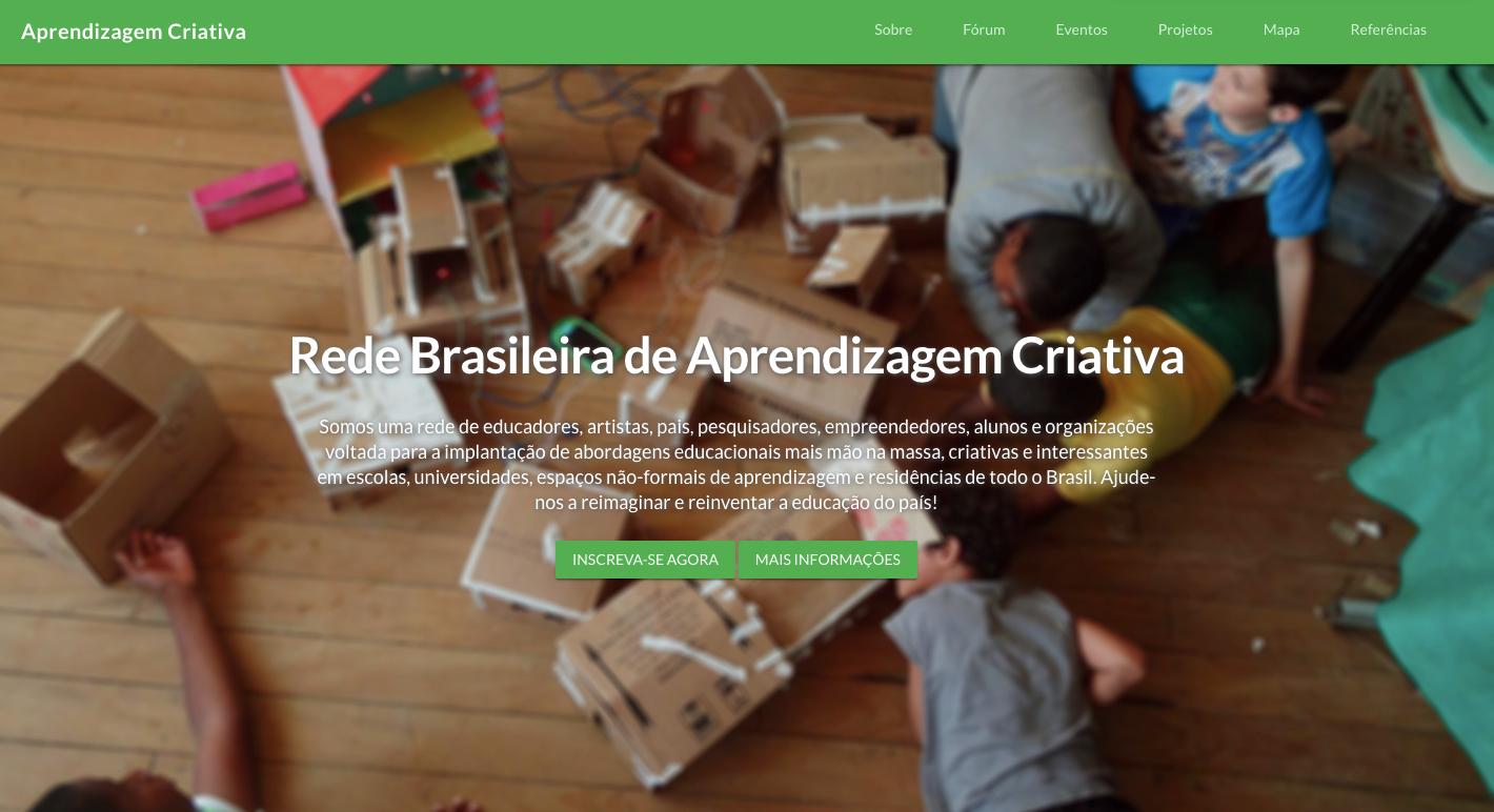 Rede Brasileira de Aprendizagem Criativa