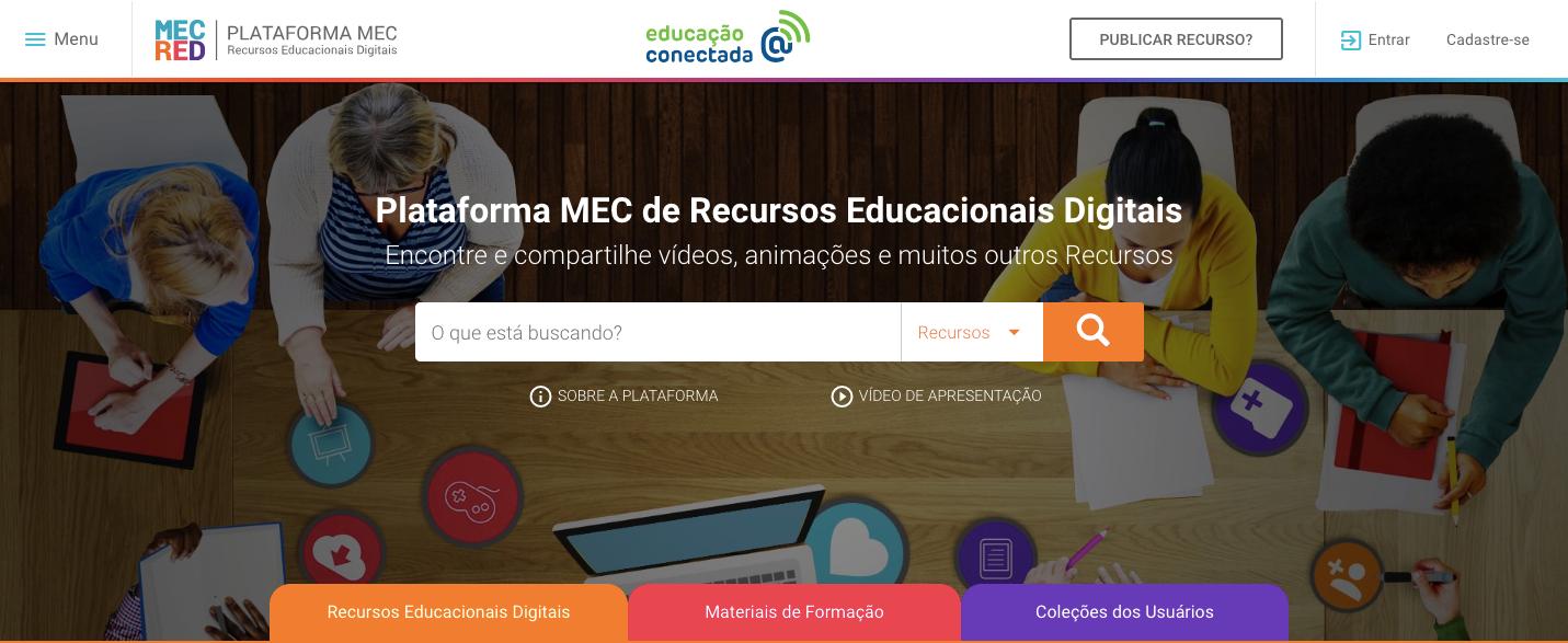 Plataforma MEC de Recursos Educacionais Digitais