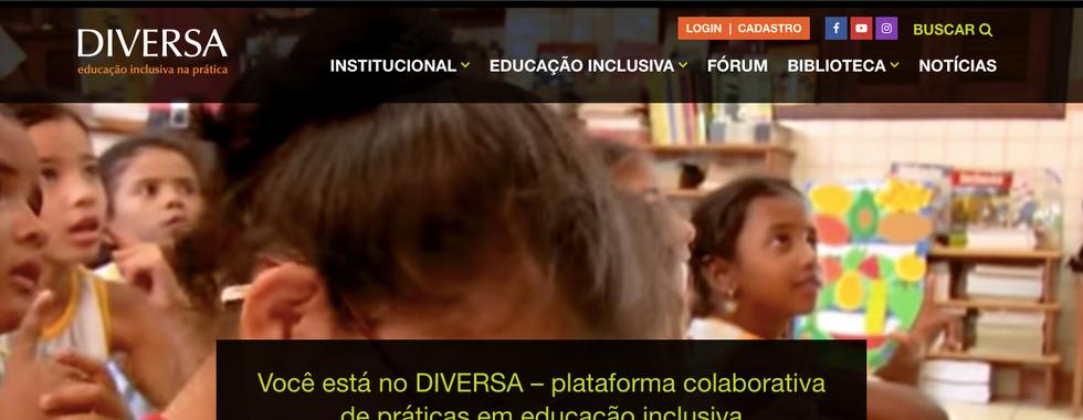 DIVERSA - Prática colaborativa em inclusão