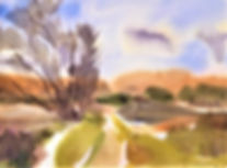 "Cosumnes River Serenity_11"" x 15"" Watercolor on Archival Papeedited.jpg"