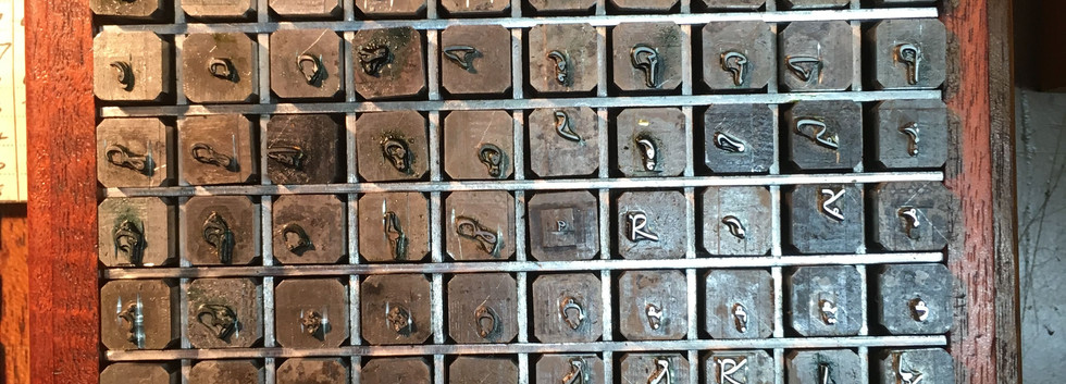 Monotype Archive Punches