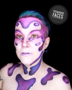 Abstract Body Paint Stacey Perry