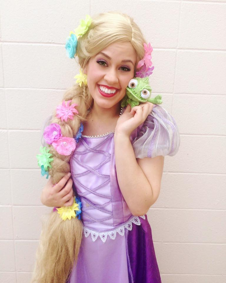 Rapunzel Storybook Character
