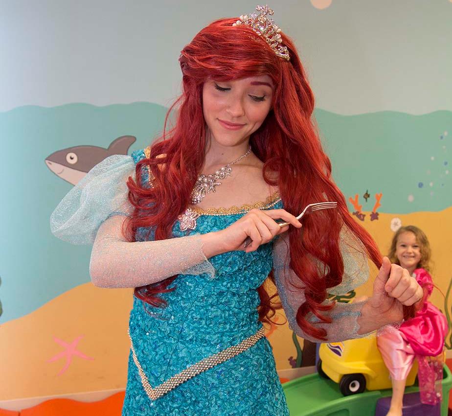 Little Mermaid Storybook Character