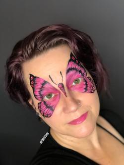 Butterfly Face Painting Lafayette La