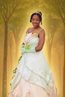 Tiana Fairy Tale Character