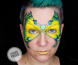 Butterfly Face Paint Stacey Perry