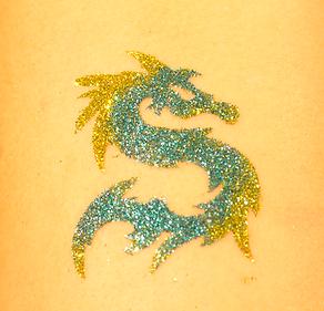 Glitter Dolphin Tattoo Lafayette, LA