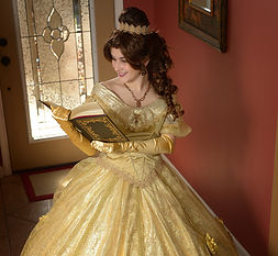 Beauty and the Beast Princess Party