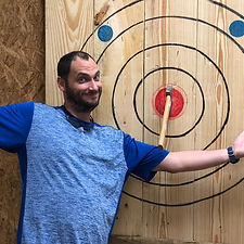 Axe Throwing at All the Rage