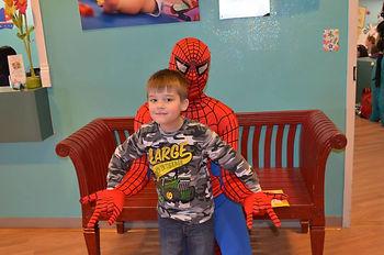 Spiderman visit Lafayette LA