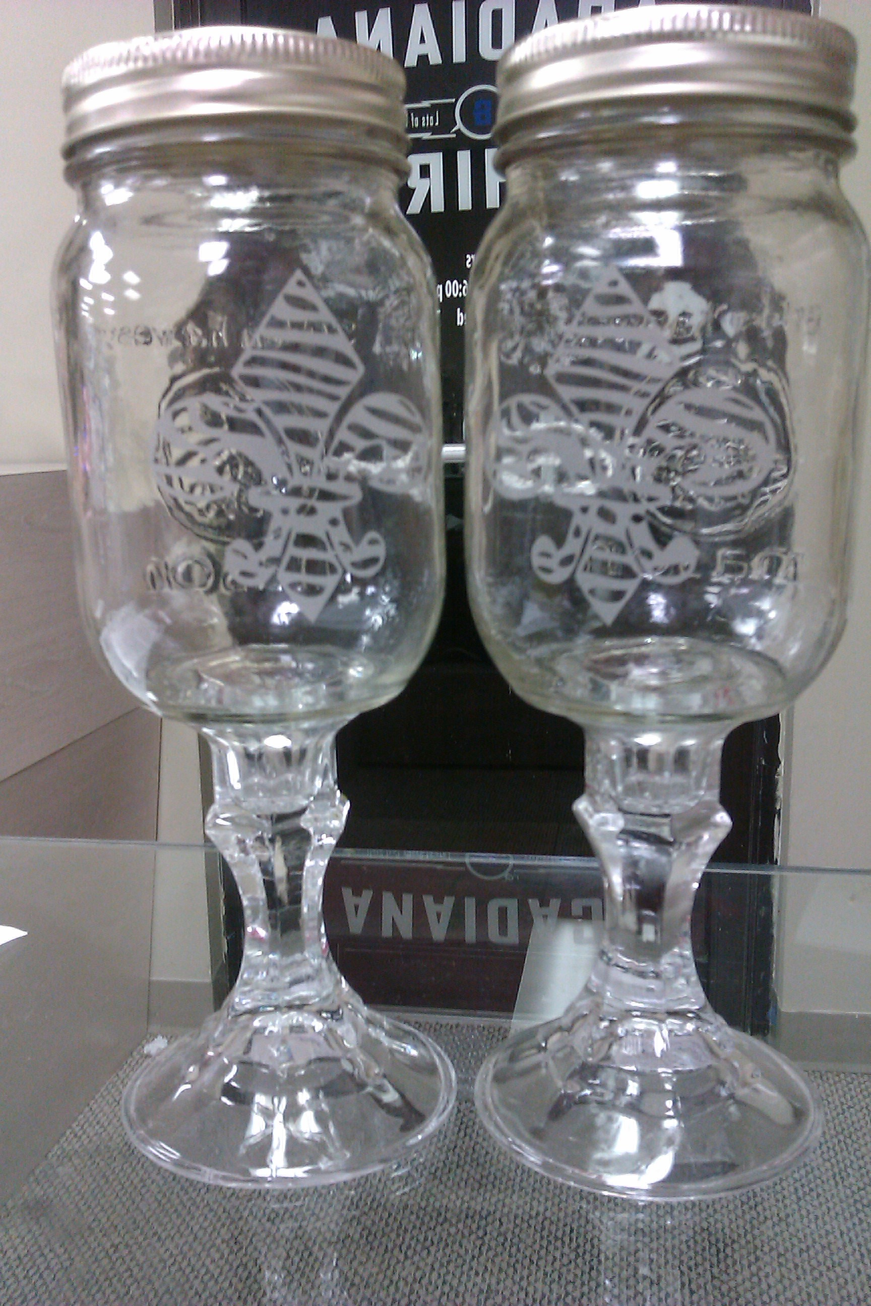 The Cajun Wine Glass