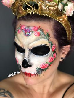 Skull Face Painting Lafayette La