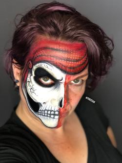 Pirate Face Painting Lafayette La