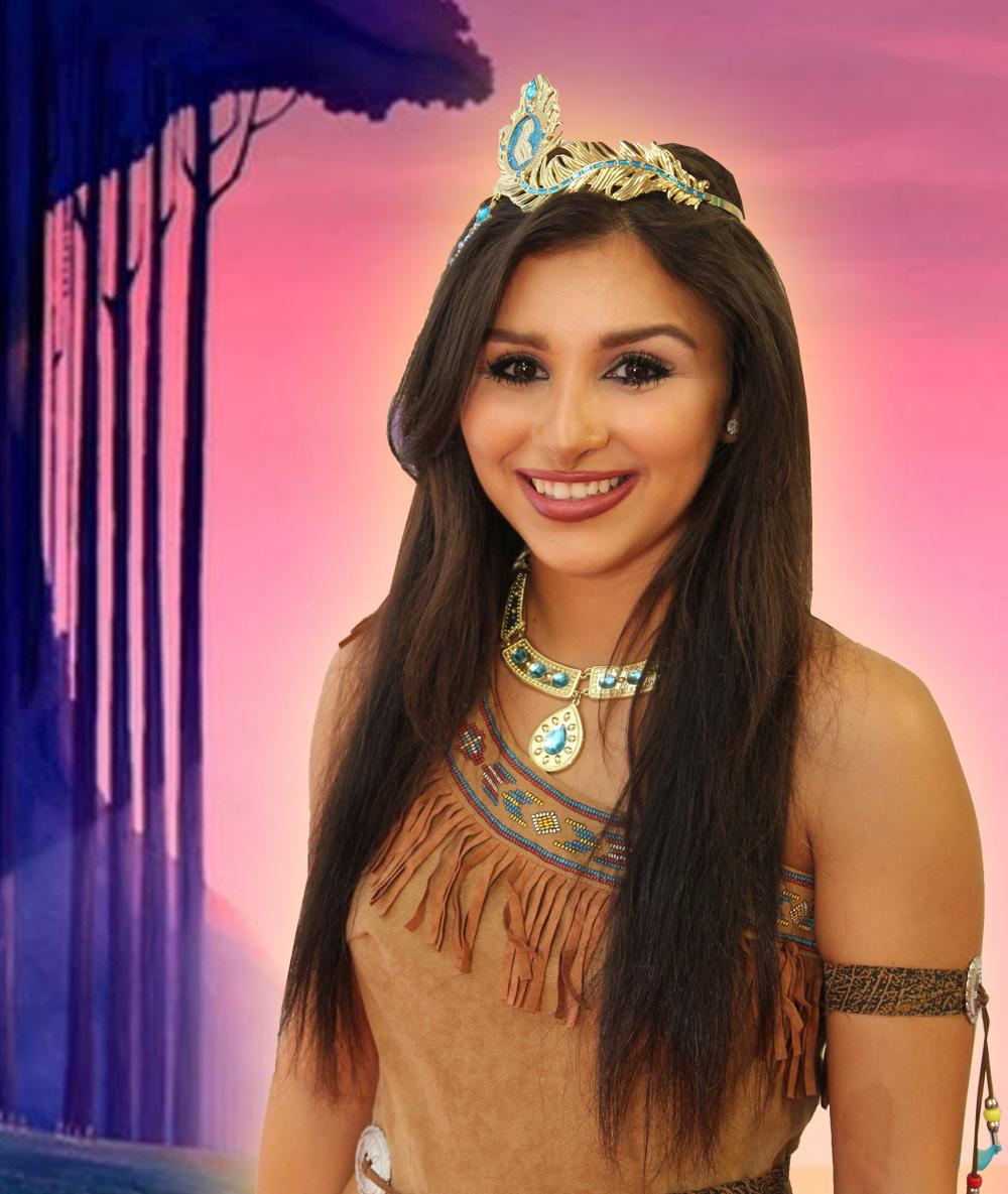 Pocahontas Storybook Character