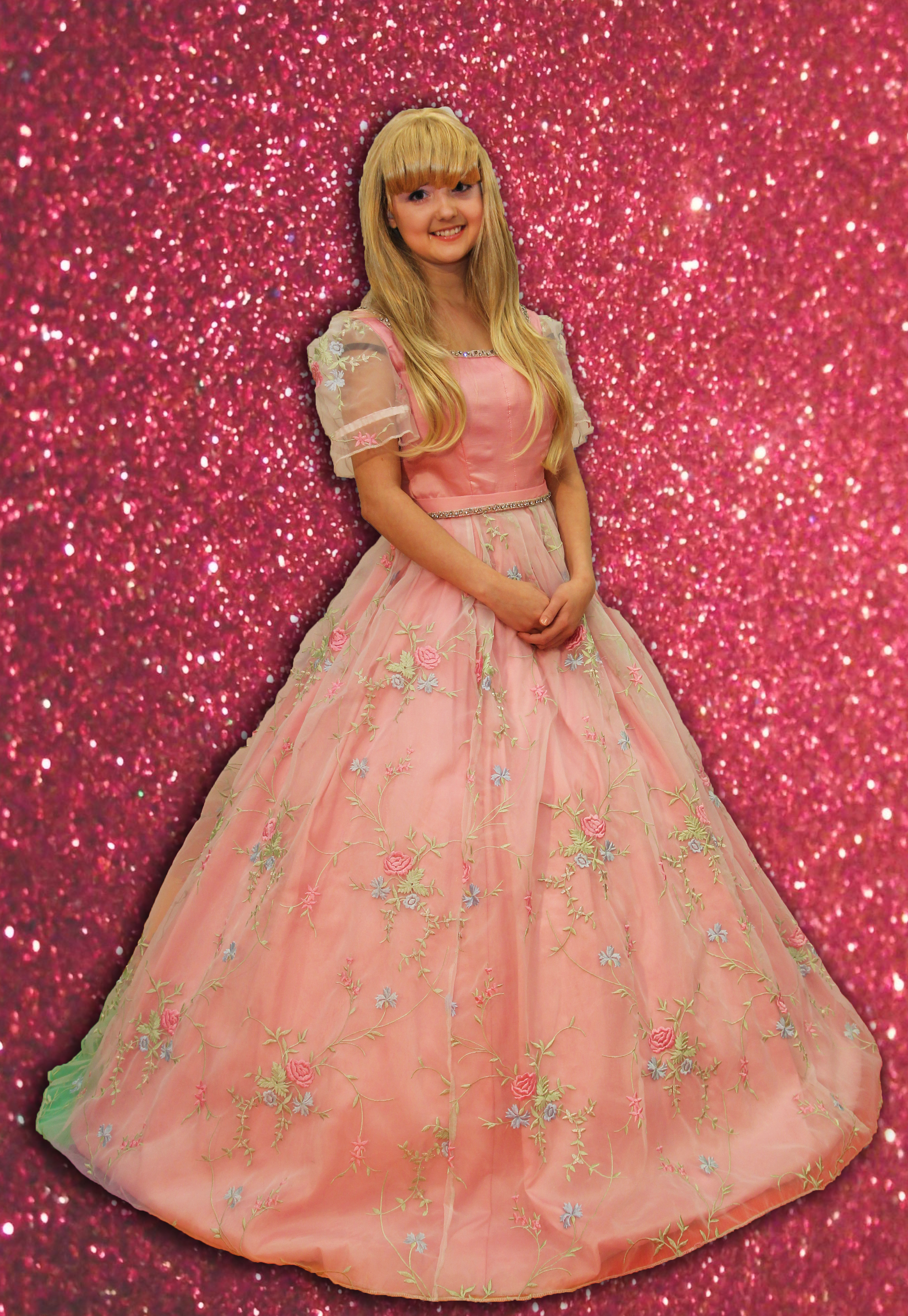 Birthday Barbie Fairy Tale Character