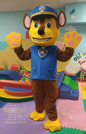 Paw Patrol Character Entertainer Lafayette Louisiana