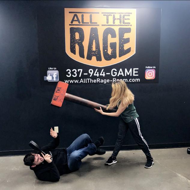 Rage Room Lafayette All the Rage