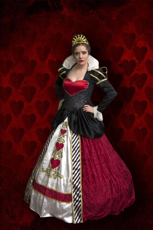 Queen of Hearts Fairytale Character