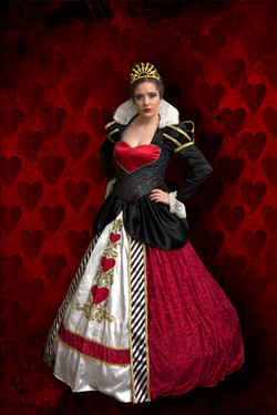 Queen of Hearts Fairytale Character