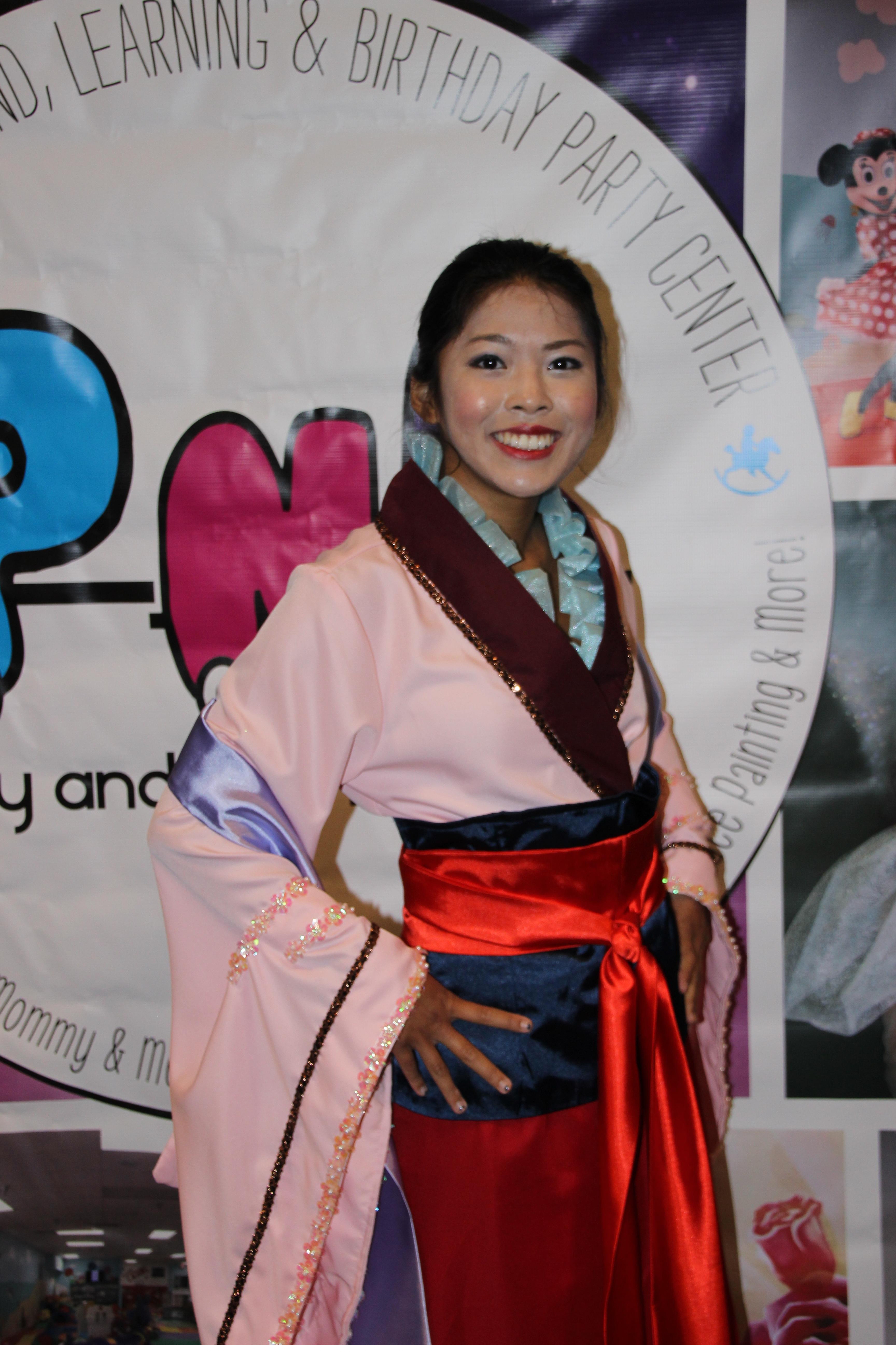 Mulan Storybook Character