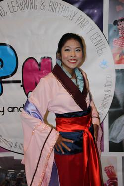 Mulan Fairy Tale Character