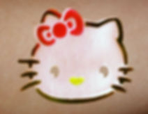 Hello Kitty Airbrushed