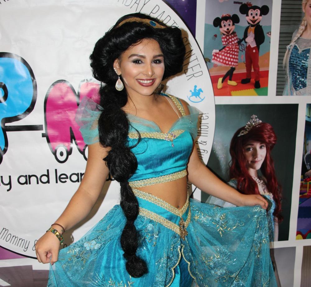 Jasmine Storybook Character