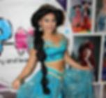 Alladin Princess Party