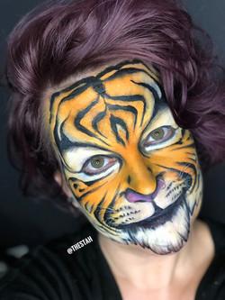 Tiger Face Painting Lafayette La