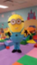 Minion Character Party Lafayette LA