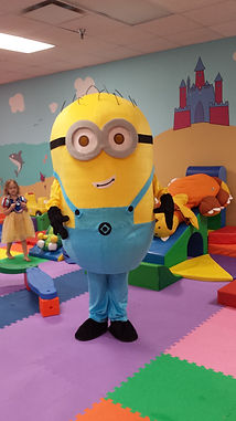 Minion Character Party Lafayette LA
