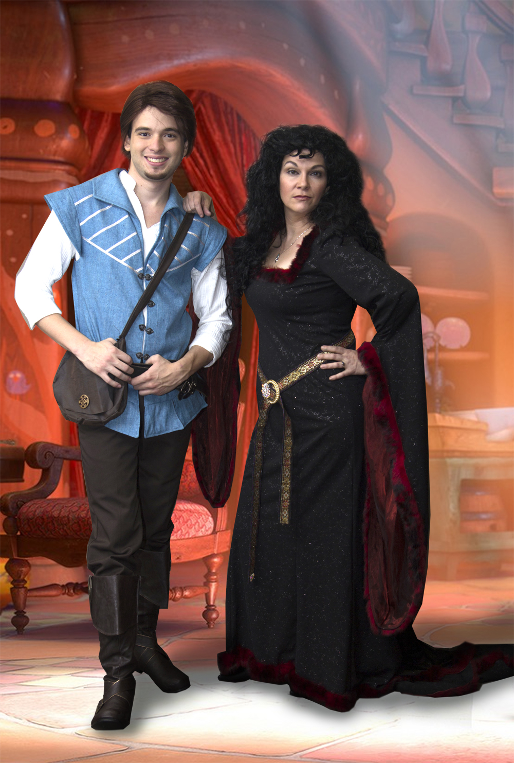 Mother Gothel Fairytale Character