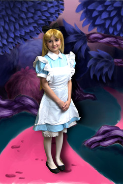 Alice Storybook Character