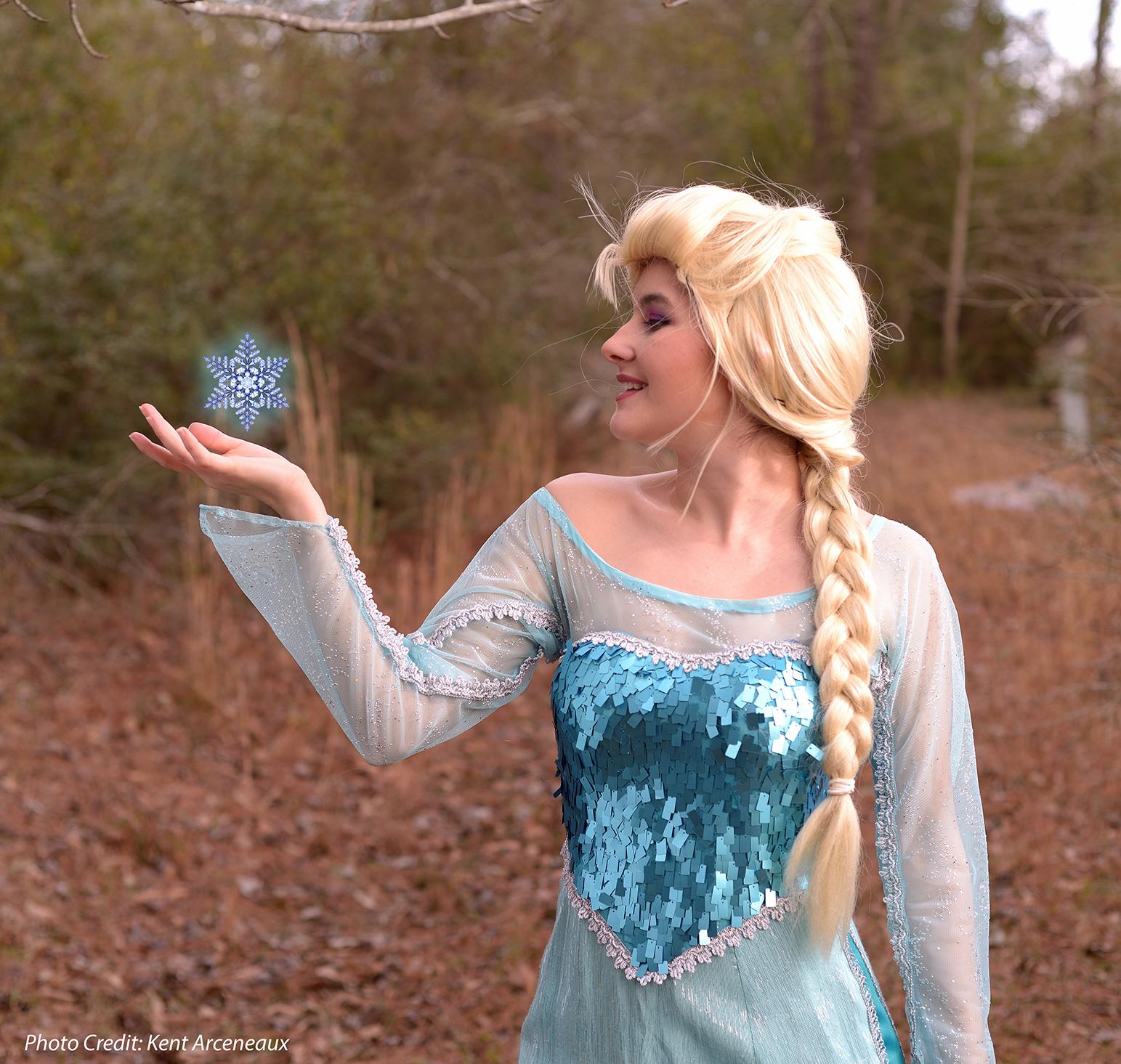 Elsa Fairy Tale Character